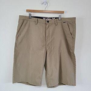 Hurley Khaki Pocket Shorts Size 40